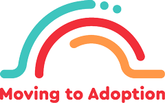 moving to adoption logo