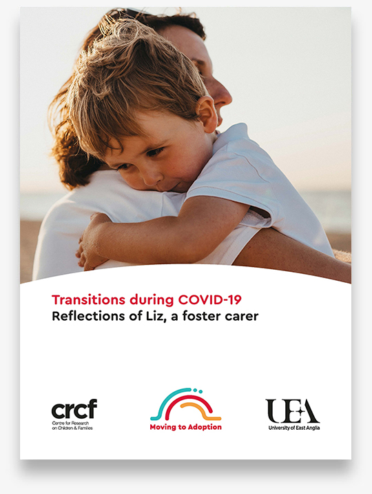 Foster carer reflections on applying the model during COVID 19 1